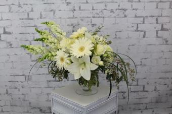 Serene White Bouquet