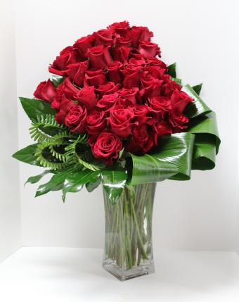 High Style Red Roses
