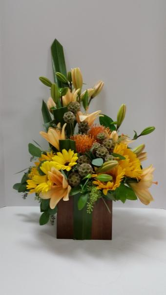 Seasonal Mix Floral Bouquet