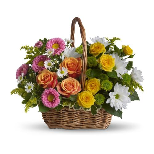Sweet Tranquility Basket by Teleflora