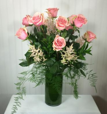 Antique Pink Roses